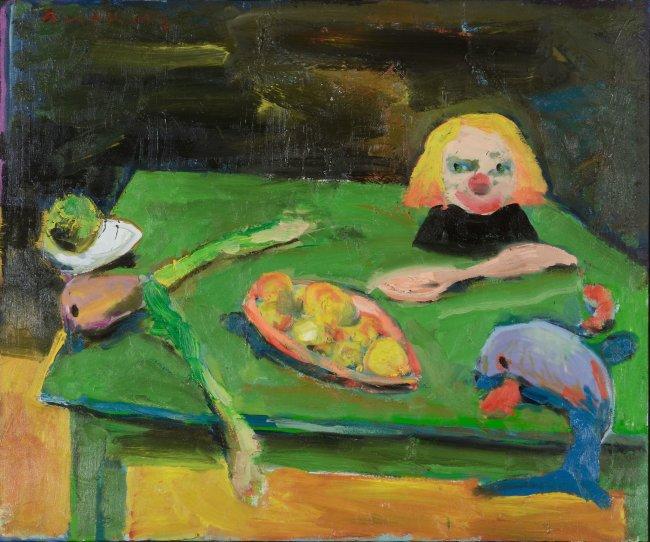 Harald Reiner Gratz: Am Tisch