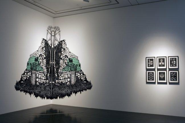 Annette Schröter: Installation Hamburger Kunsthalle 2010