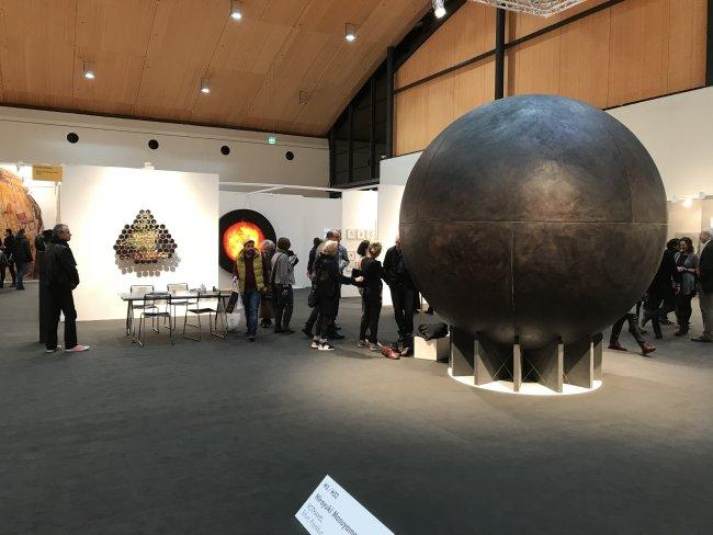 Hiroyuki Masuyama: Ausstellungsansicht, Art Karlsruhe 2018