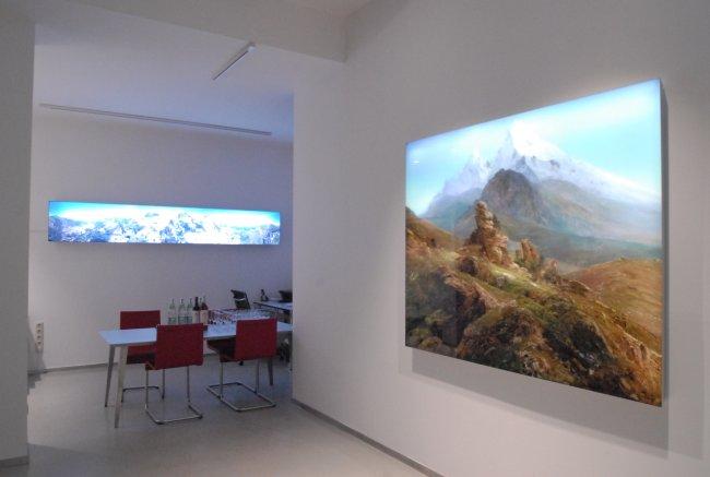 Hiroyuki Masuyama: Ausstellungsansicht Frankfurt Fahrgasse