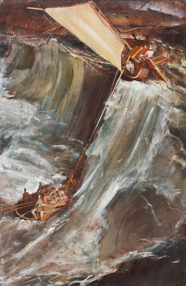 Jörg Ernert: Schiffbruch, 4. Fassung, nach Turner