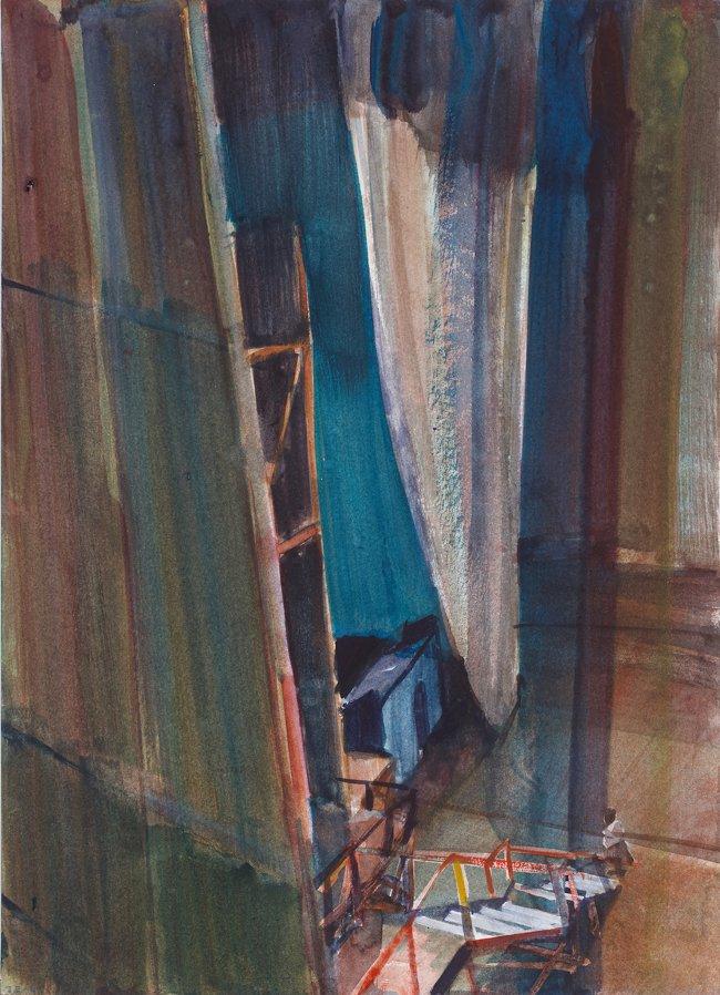 Jörg Ernert: Vorhang, 3. Fassung