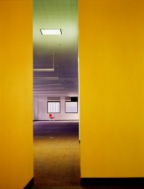Raissa Venables: Red Chair, Equity Building, NY