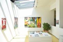 Harald Reiner Gratz: Ausstellungsansicht EF 2015 2