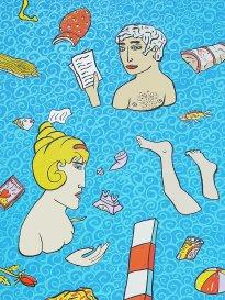 Moritz Götze: Das Bad im Wasser