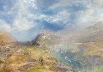 Hiroyuki Masuyama: A Village in the Alps (Sion near the Simplon)