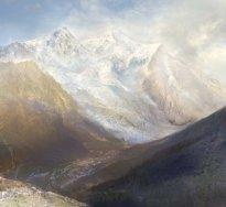 Hiroyuki Masuyama: Mont Blanc, from Brevent