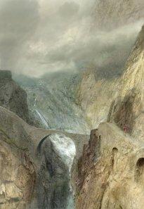 Hiroyuki Masuyama: The Devil ́s Bridge, near Andermatt