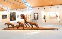 Dana Meyer: Skulpturenplatz auf der Art Karlsruhe