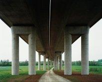 Hans-Christian Schink: A 38, Brücke Schkortleben (2)
