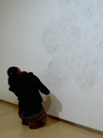 Michiko Nakatani: Wandzeichnung