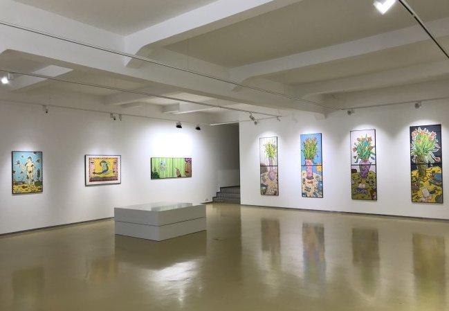 Moritz Götze: Ausstellungsansicht