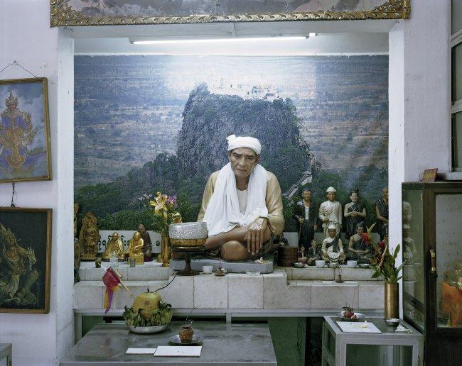 Hans-Christian Schink: Boo Min Khaung, Maha Pain Ne Hindu Temple, Yangon