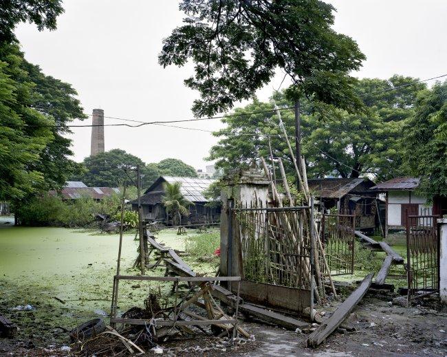 Hans-Christian Schink: Between 25th and Pinya Streets, Mandalay