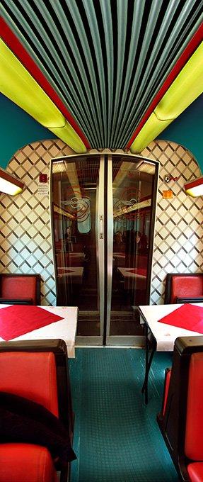 Raissa Venables: Dining Car
