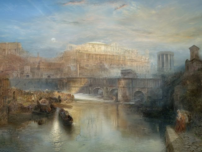 Hiroyuki Masuyama: Ancient Rome, Agrippina Landing with the Ashes of Germanicus