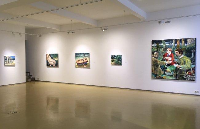 Harald Reiner Gratz: Ausstellungsansicht Erfurt