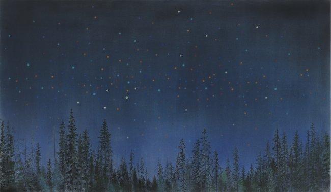Wieland Payer: Confetti Sky II
