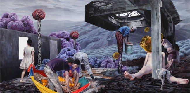 Nguyen Xuan Huy: Danaë & Co