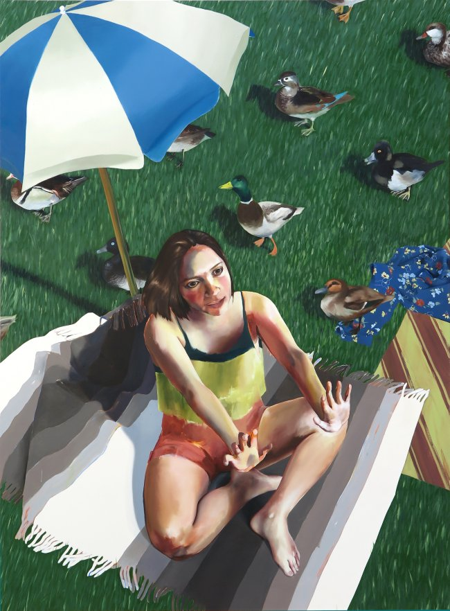 Ellen Akimoto: Ducks in the Park