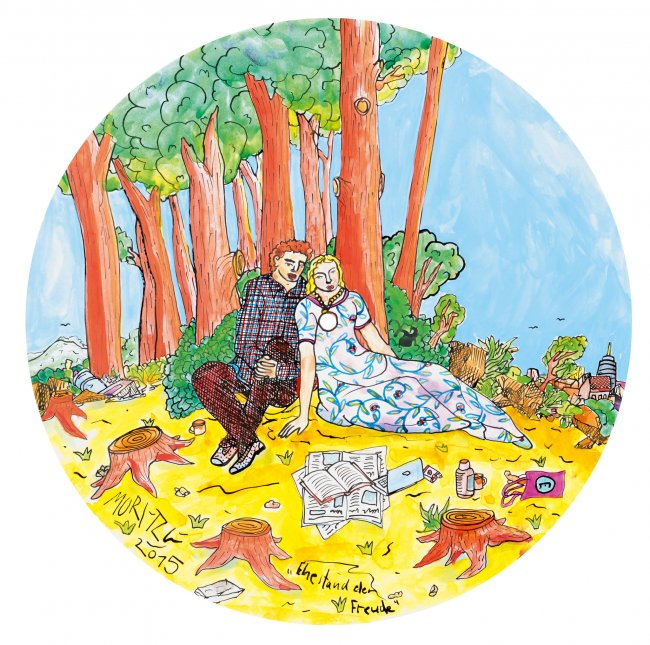 Moritz Götze: Ehestand der Freude