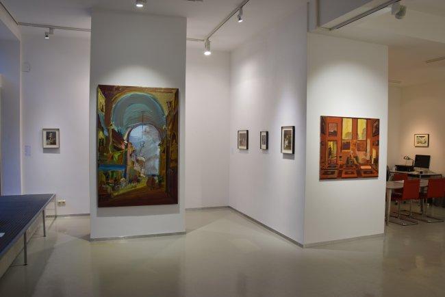 Jörg Ernert: Ausstellungsansicht Frankfurt 2014