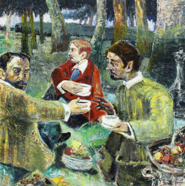 Harald Reiner Gratz: Frühstück im Freien