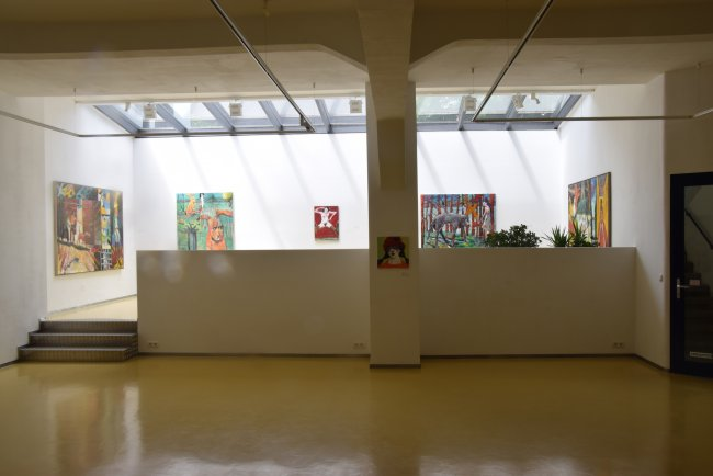 Harald Reiner Gratz: Ausstellungsansicht Erfurt 2015