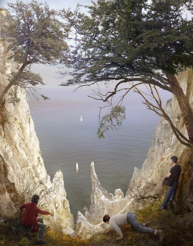 Hiroyuki Masuyama: Kreidefelsen auf Rügen