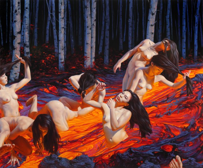 Nguyen Xuan Huy: Hylas and the Nymphs