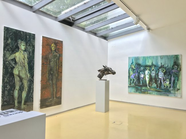 Undine Bandelin: Ausstellungsansicht 1