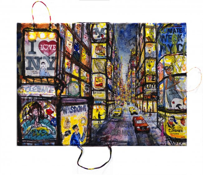 Thitz: New York Urban Bag Art Baglight
