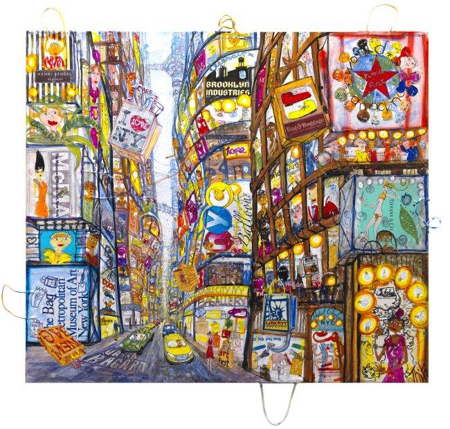 Thitz: New York Urban Bag Art UC