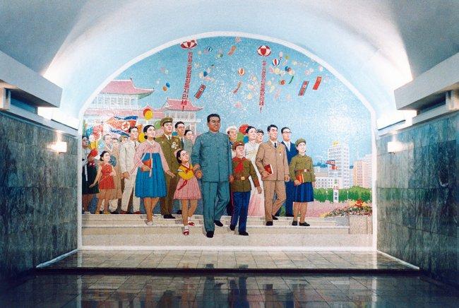 Hans-Christian Schink: Pjöngjang Metro 1