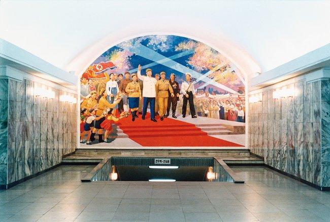 Hans-Christian Schink: Pjöngjang Metro 7