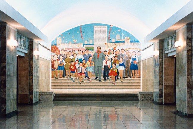 Hans-Christian Schink: Pjöngjang Metro 9