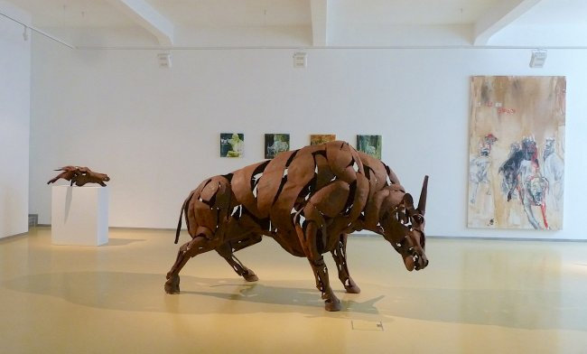 Dana Meyer: Ausstellungsansicht Erfurt