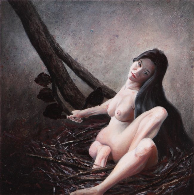 Nguyen Xuan Huy: The black birds