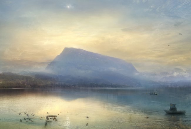 Hiroyuki Masuyama: The Blue Rigi sunrise