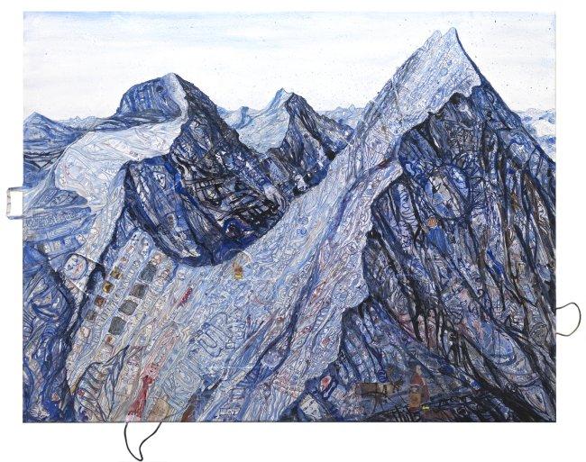 Thitz: Utopische Zivilisation im Gebirge - Mönch, Jungfrau, Eiger