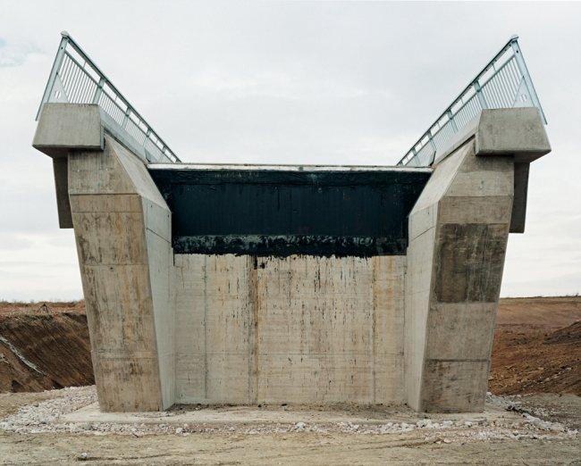 Hans-Christian Schink: A 71, Brücke Molsdor