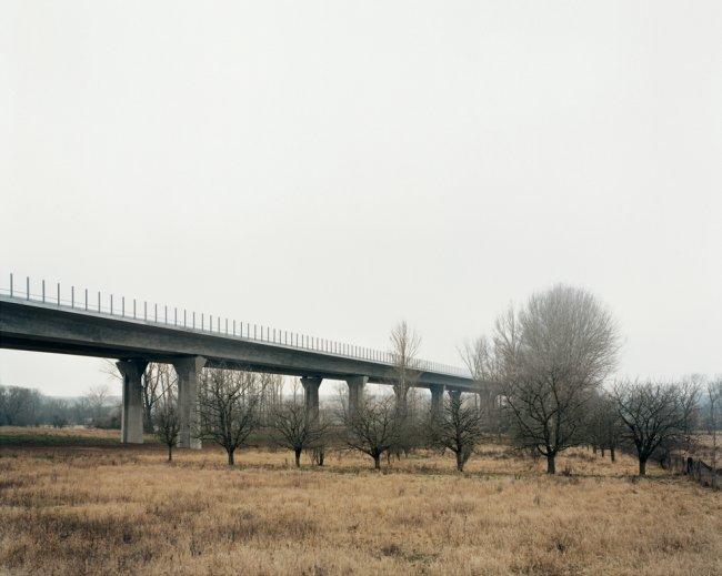 Hans-Christian Schink: A 14, Götschetalbrücke