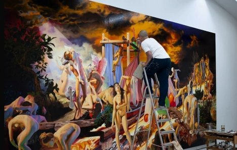 Kunstsammlung Jena präsentiert die verstörend schönen Werke von Nguyen Xuan Huy