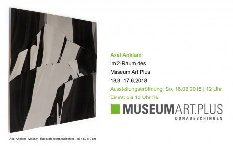 Axel Anklam im Museum Art Plus Donaueschingen