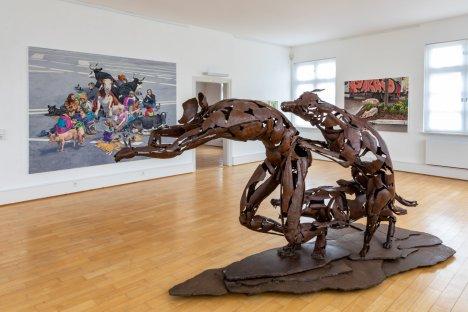 Dana Meyer in der Städtischen Galerie Ehingen