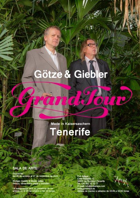 Moritz Götze und Rüdiger Giebler in der Sala de Arte, La Orotava, Teneriffa