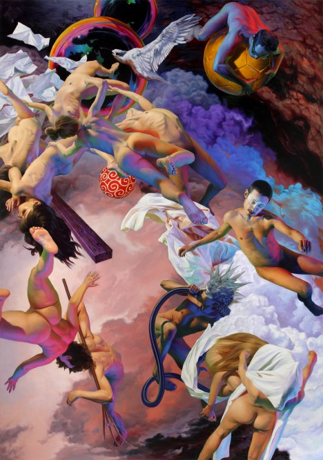 Nguyen Xuan Huy im Galerieverein Leonberg