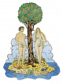 Moritz Götze: Eva und Adam