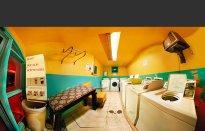 Raissa Venables: Desert Motel Laundry Room