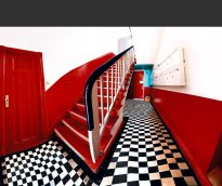 Raissa Venables: Red Stairs
